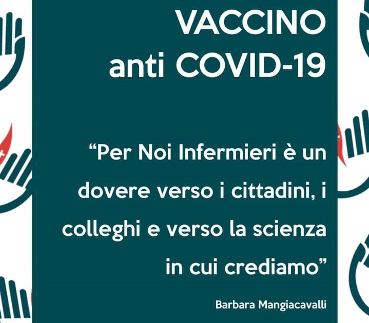 manifesto campagna vaccinale covid barbara mangiacavalli fnopi
